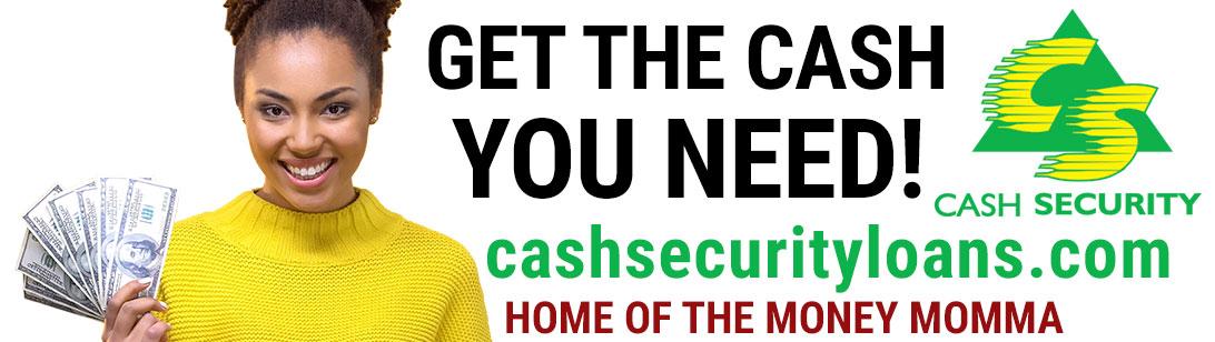 Cash Security billboard